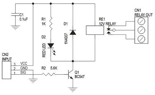 interfacing dc motor to 8051 electronic circuits and diagram
