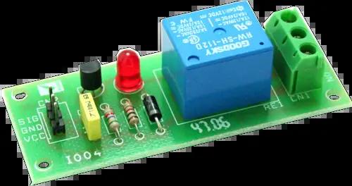 Transistor Driving A Relay Circuit Diagram