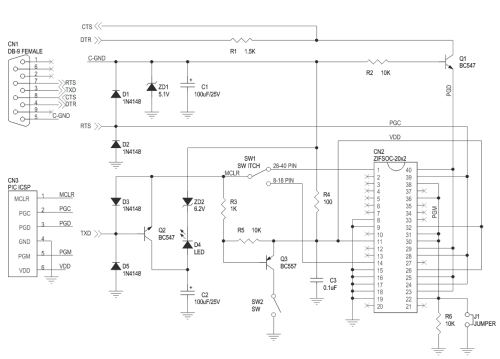 small resolution of serial pic micro controller programmer 3