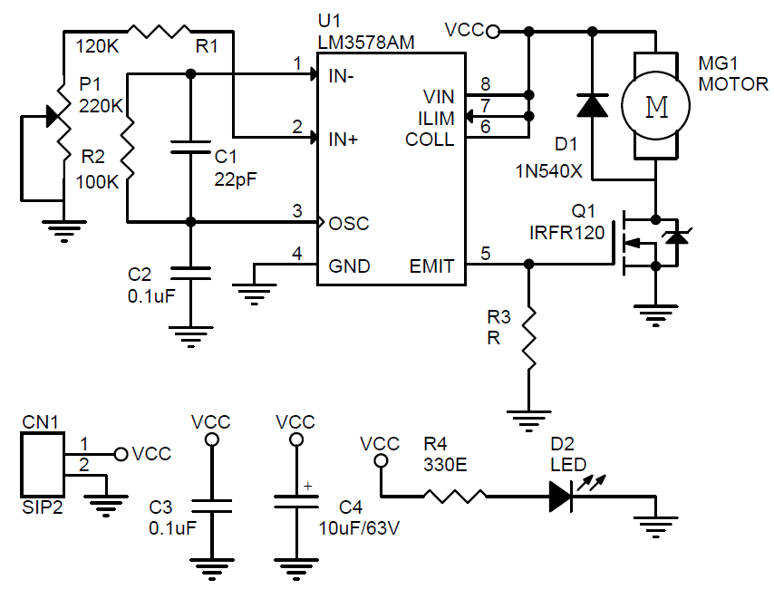 motor controllers circuits projects 11