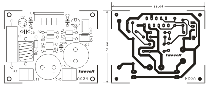 audio circuit with voice over capability