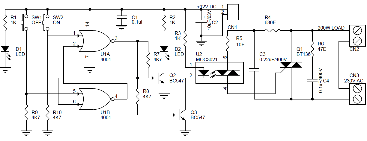 solid state relay ac dc