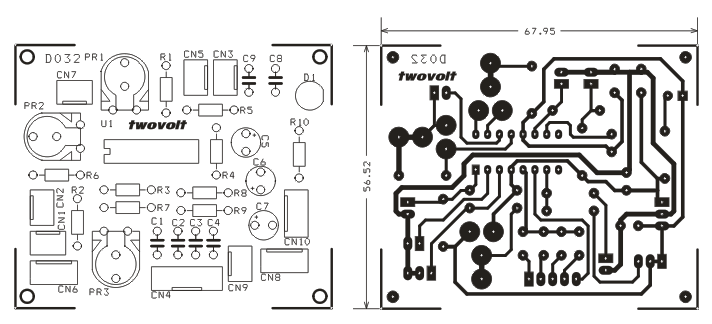 Function Generator Using XR2206 Circuit & PCB Layout