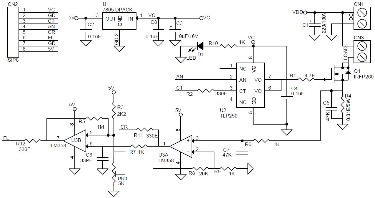 hight resolution of dc solid state relay archives circuit ideas i projects i dc ssr schematic