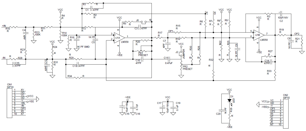 medium resolution of inverting operational amplifier circuit universal op amplifier development board