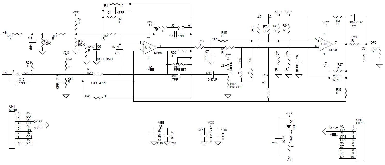 hight resolution of inverting operational amplifier circuit universal op amplifier development board