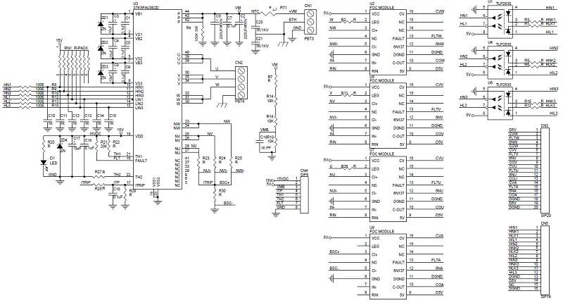 50A IPM Intelligent Power Module for VFD and AC Servo