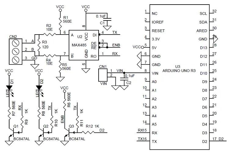 Arduino Uno Diagram