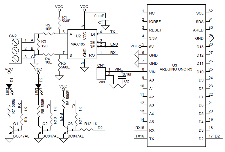 rs485 circuit diagram image about wiring diagram and schematic
