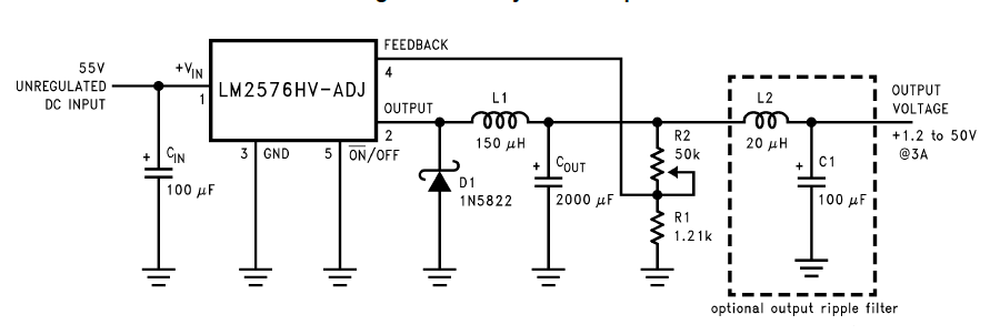1.2V To 50V _3Amp_ Adjustable_Power Supply Circuit Using