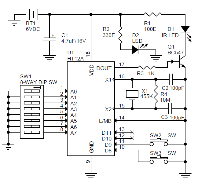 automatic power control for rf applications circuit