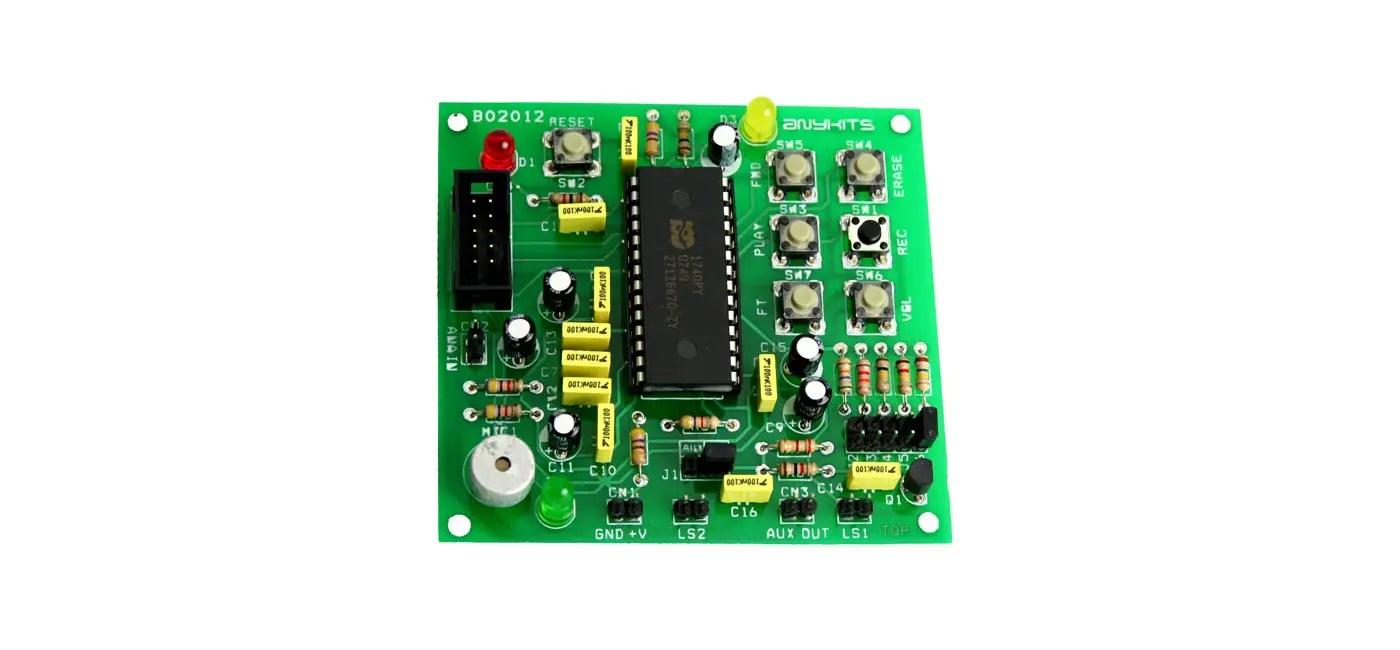 Voice Recorder Playback Circuit