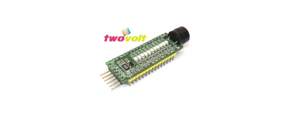 medium resolution of arduino nano led warning light with buzzer 11 led sequencer
