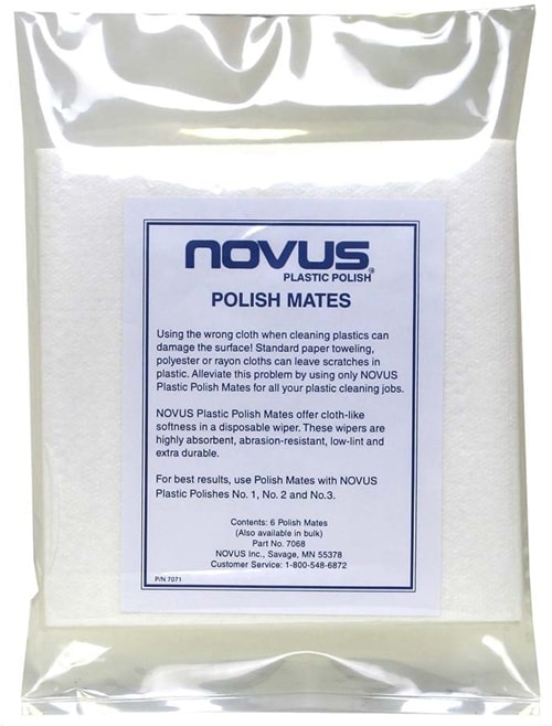 Novus Polish Mates (6 Pack) For Cleaning Acrylic Mirrors