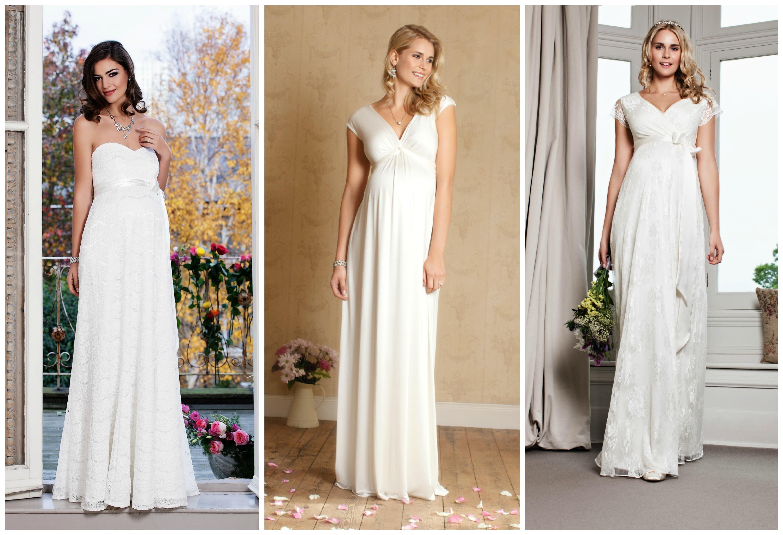 Brautkleider Für Schwangere Bräute Hochzeitsblog Two Wedding