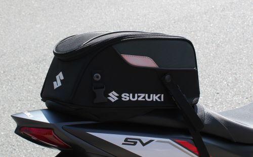 small resolution of suzuki sv650 rear seat tail bag
