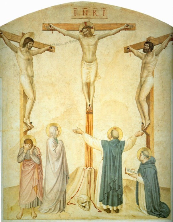 Fra Angelico--Crucifixion with Sts Dominic and Thomas