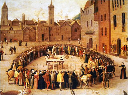 St. Thomas More Execution