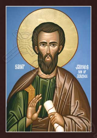 Apostle James the Zebedee: the life of the saint