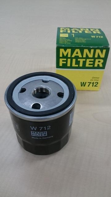 MANN W712 機油濾心