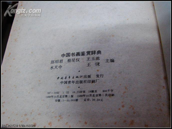《中國書畫鑒賞辭典》- 臺灣Word