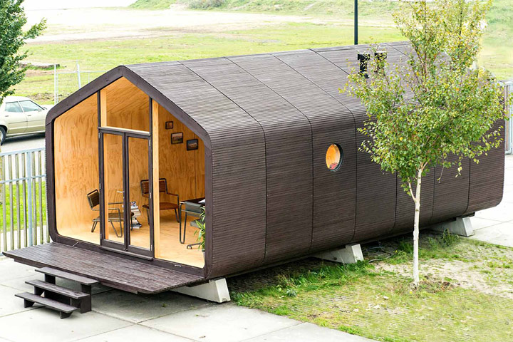 Wikkelhouse - Modular Microhome Made of Cardboard - Quiet Corner