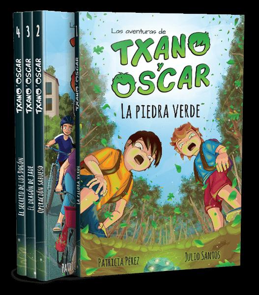 Txano y Óscar - Colección de literatura infantil freemium