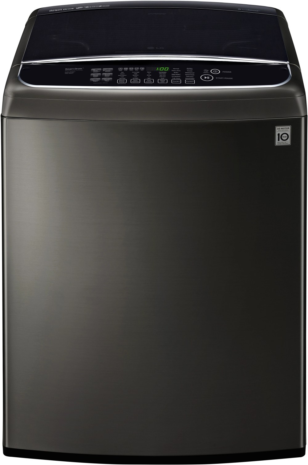 medium resolution of ft black stainless steel top load washer wt1901ck lg