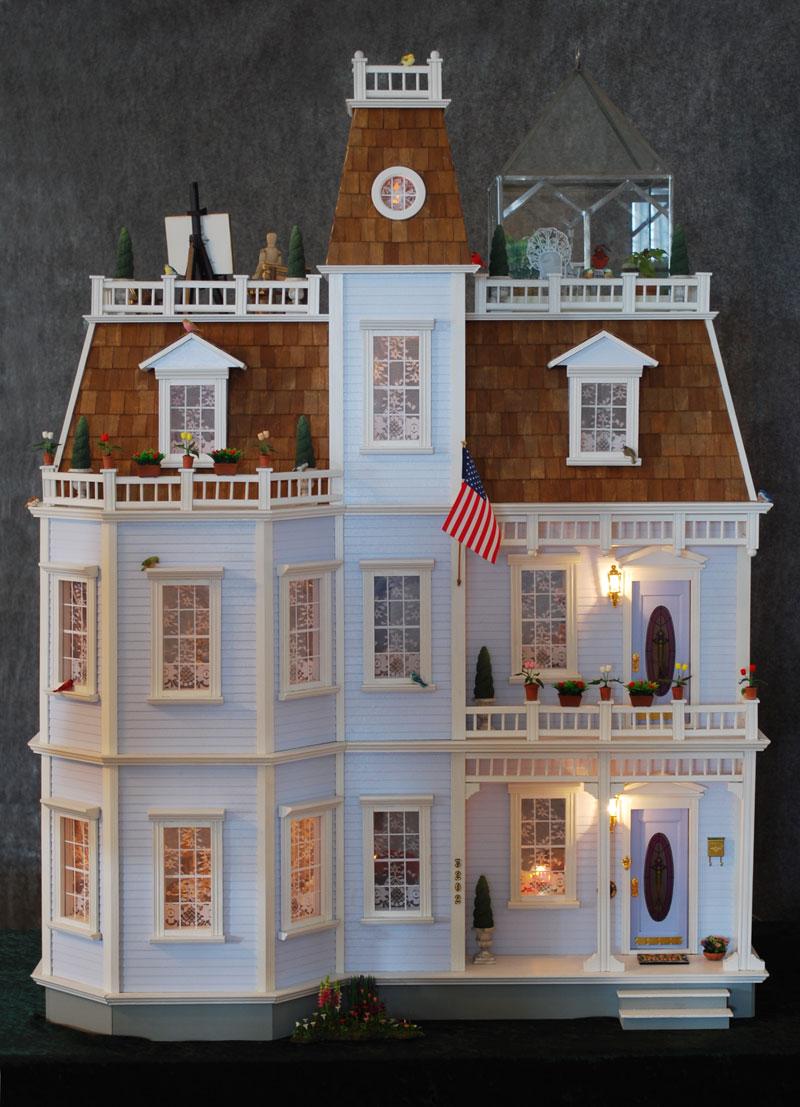 Becky SanderCederlof Dollhouse Tour Home Page