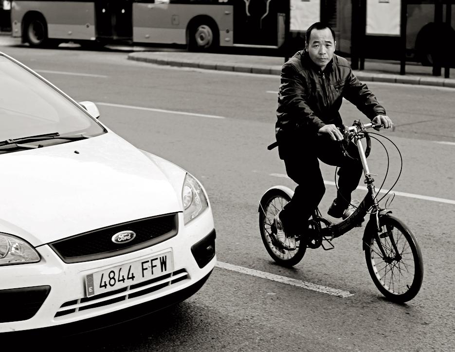 El chino de la bici