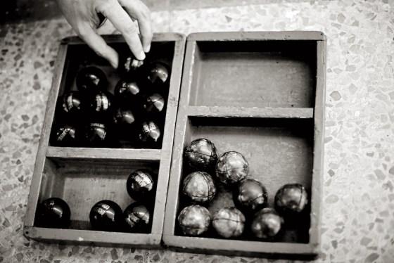 Las pelotas con las que se jugó la final de la liga profesional.