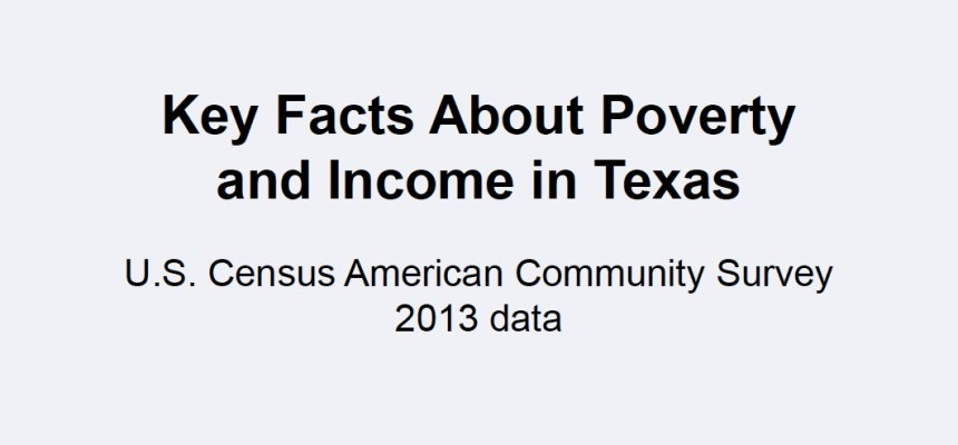 Center for Public Policy Priorities (CPPP) Poverty 101 and Key Facts