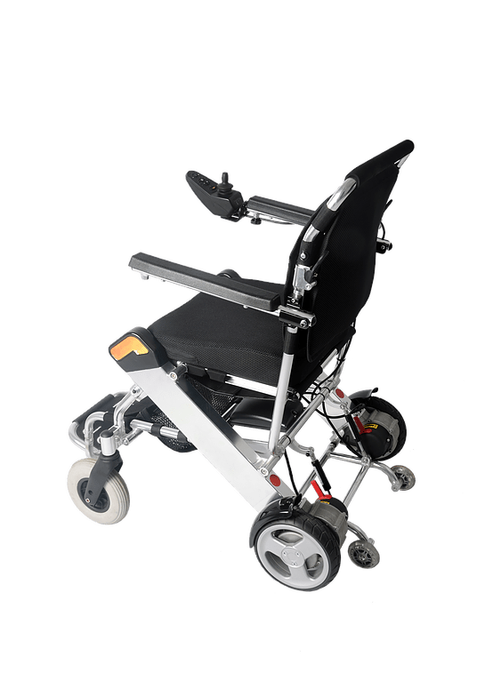 Folding Light Weight Electric Q Wheelchair 275Lbs Capacity
