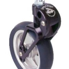 Motorized Wheel Chair Baby Shower Decorated Frog Legs Caster Suspension Fork
