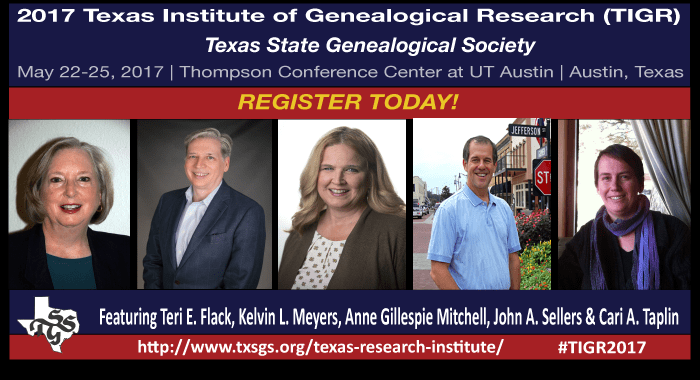 Register Now for TIGR 2017!