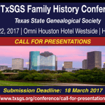 TxSGS 2017 Call for Presentations