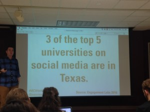 Engagement Lab lists three of the top five universities on social media as Texas institutions.