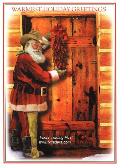 Texas Christmas Cards