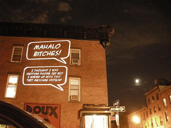 Brooklyn speech bubble