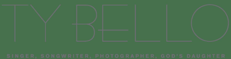 TY BELLO | AWARD-WINNING SINGER & PHOTOGRAPHER