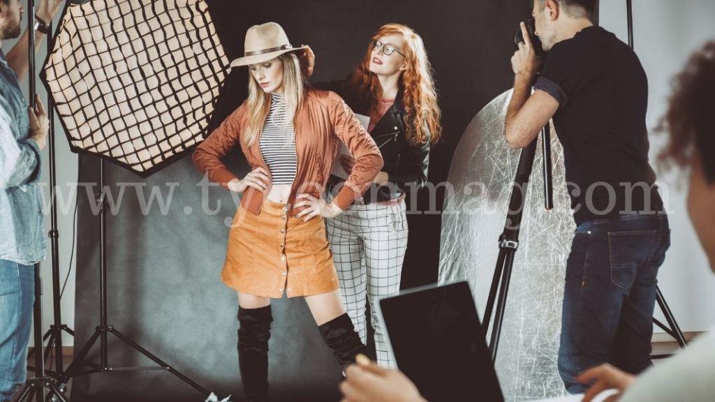 fashion photography session