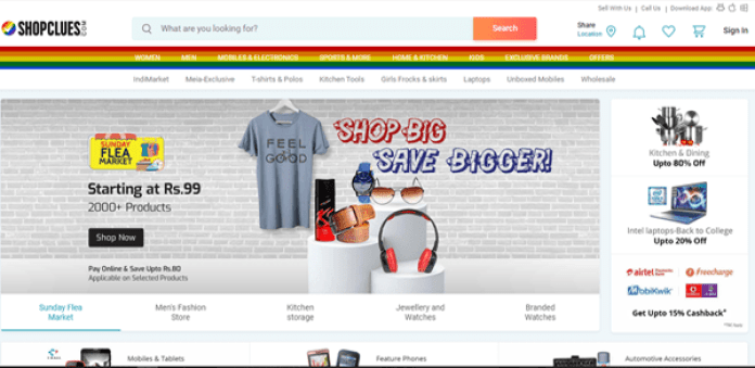 Shopclues cheapest online shopping site in india
