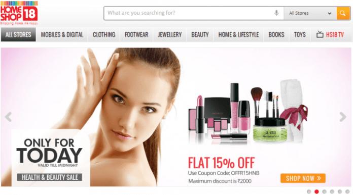 Homeshop18 online shopping website