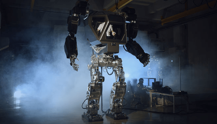 Don't Be Fooled by This Giant 'Mech' Robot