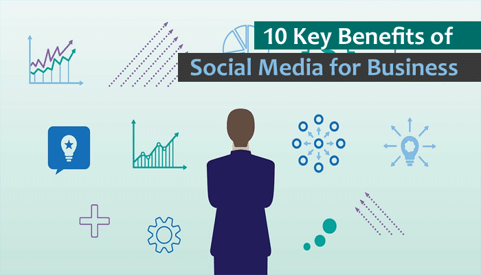 10 Key Benefits of Social Media for Business