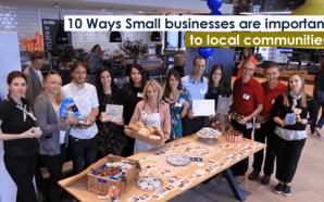 10 Ways Small businesses are important to local communities