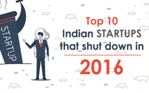 Top 10 Indian startups that shut down in 2016