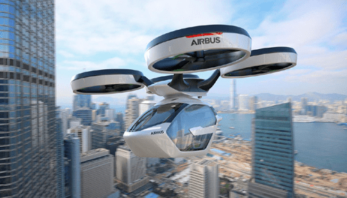 Airbus Unveils Self-Flying Car Concept