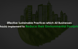 5 Effective Sustainable Practices which All Businesses should Implement to Reduce their Environmental Footprint