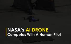 NASA's Al Drone Competes With A Human Pilot